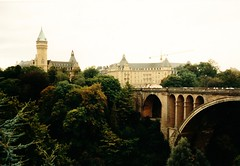 Luxembourg   -   Luxembourg City    -    Septmeber 1989 (Ladycliff) Tags: luxembourg luxembourgcity