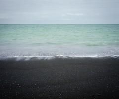 Napier (emilyjasper) Tags: travel sea newzealand black film beach mediumformat landscape photography sand contemporary ishootfilm explore nz analogue napier 120mm filmisnotdead emilyjasper