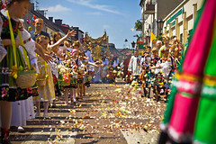 The Feast of Corpus Christi (illus00) Tags: tradition traditional owicz lowicz procession feast corpus christi religion flowers people catholic welcome poland welcometopoland culture