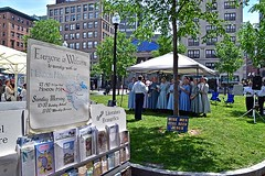 Mennonite Church Choir (AntyDiluvian) Tags: park boston choir singing massachusetts mendon singers common bostoncommon mennonite