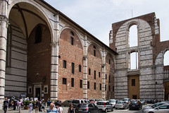 Siena - Cathedral Duomo Nuovo Wing (Le Monde1) Tags: city horses italy nikon cathedral wing unesco worldheritagesite rivers tuscany siena toscana stmary elsa palio pilgrims piazzadelduomo d610 arbia santamariaassunta duomonuovo merse viafrancigena lemonde1