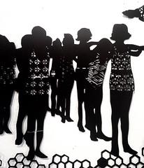 MBosley_MindYourOwnBeekeeper3 (TheWayThingsWere) Tags: silhouette paperart silhouettes papercut papercuts papercutting mollybosley