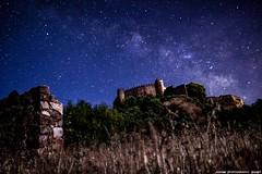 Noche en el Castillo (JoseMi Campos) Tags: longexposure naturaleza night noche nikon estrellas nocturna fotografia castillo miraflores extremadura vialactea alconchel nikond5300