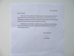 Stupid Scilon Letter No.15 (Mr Cheerful) Tags: scientology letter stupid
