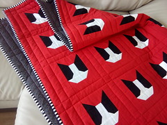 Red-dog-quilt_000023 (irina_vykhrestiuk) Tags: quilt homemade handmade modern child patchwork kids bedding blanket quilting throw twin memory