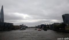 view from tower bridge, london (rain's child) Tags: uk travel england london thames towerbridge unitedkingdom traveling walkietalkie theshard 20fenchurch