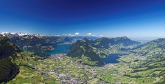Panorama view from 'Great Mythen' (eichler_alexander) Tags: panorama mountain alps switzerland swiss schwyz mythen