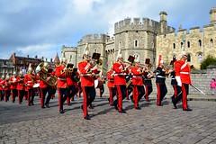 England 2016  Windsor  Band (Michiel2005) Tags: uk greatbritain england soldier army unitedkingdom britain band windsor berkshire windsorcastle engeland leger soldaat vk muzikant militaryband muzikanten grootbrittanni verenigdkoninkrijk