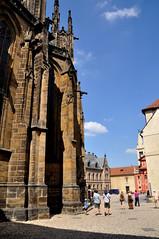 St. Vitus Cathedral at Prague Castle (black_betty2) Tags: praha praskhrad tschesche