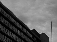 Adventure 5 (MagicalEveryday) Tags: city sky building glass evening norwich raining offices