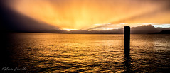 Tramonto sul Garda... (Roberto Fiscella) Tags: sunset lake lago nikon garda tramonto colori riflessi veneto nikond7200 robertofiscella fiscellaroberto