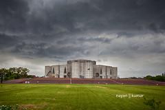 Bangladesh Parliament (Nayan Kumar) Tags: sky dark dhaka bangladesh bangladeshi
