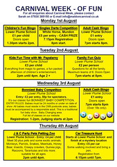 "Programme 2016 - Page 2 - Carnival Week • <a style=""font-size:0.8em;"" href=""http://www.flickr.com/photos/89121581@N05/28101557995/"" target=""_blank"">View on Flickr</a>"