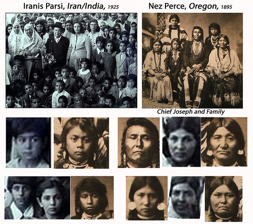 "Alternative History Theory:  ""Iranis Parsi"" of Iran and India, compared to ""Nez Perce"" tribe of Oregon"