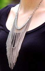 Fringe7 (Thedrawingmannequin) Tags: fashion fossil belt fringe cognac maxi lbd littleblackdress blackdress jeffreycampbell maxidress fashionblogger statementnecklace fringenecklace blackmaxidress
