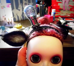 WIP-OOAK Blythe headband
