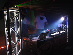 IMG_9838 (Dan Correia) Tags: housemusic lights lasers dj mixer cdjs blacklight laptop macbook traktor kontrols2 beatdownproductions topv111 15fav topv333 topv555