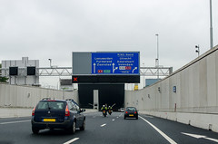 E22 / A10 - Coentunnel (Herman1705) Tags: amsterdam traffic tunnel e22 a10 zaandam verkeer coentunnel einsteinweg