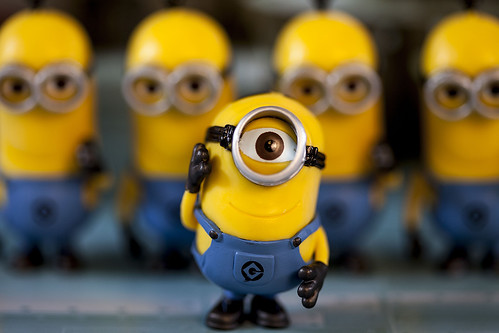 One Eyed Minion by avrene, on Flickr