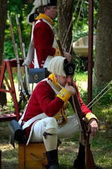 Revolution_132 (Sharp Perspective Photography) Tags: history colonial british reenactment colony musket firelock