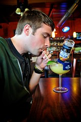 Drinking Beerita (tyle_r) Tags: food june texas mexican drinks springbranch 2013 beerita sandrascantinagrill