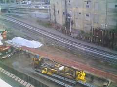 Record by Always E-mail, 2013-06-19 06:14:58 (atlanticyardswebcam) Tags: newyork brooklyn webcam prospectheights atlanticyards vanderbiltrailyard 696716atlanticavenue 718728atlanticavenue block1120