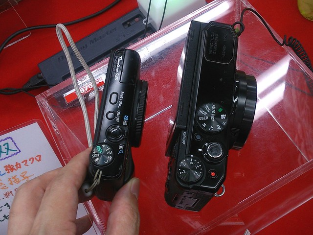 PENTAX MX-1 vs Canon PowerShot S95