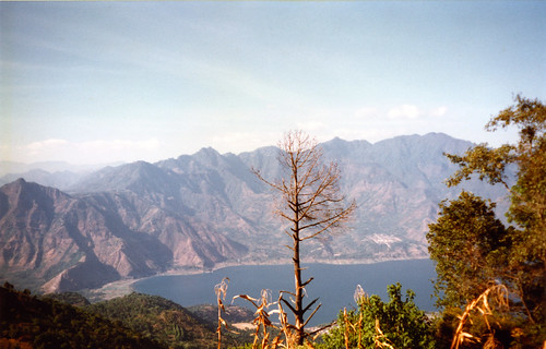 Guatemala, Lac Atitlán Guatemala, vu du volcan San Pedro