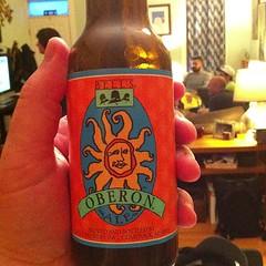 Beer 1: Oberon Summer Ale
