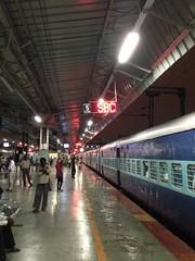 Bangalore SBC Railway Station (_punit) Tags: mobile train bangalore platform rail sbc majestic uploaded:by=flickrmobile flickriosapp:filter=nofilter