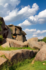 Devil's Den - Gettysburg.jpg (Rock Steady Images) Tags: camera vacation sky usa grass rock clouds canon landscape eos pennsylvania events places equipment gettysburg civilwar cameras 7d processing handheld 200views battlefield 50views lenses cartrip topaz 25views niksoftware gettysburgnationalbattlefield bypaulchambers canonef2470mmf28iiusm lightroom4 photoshopcs6 rocksteadyimages