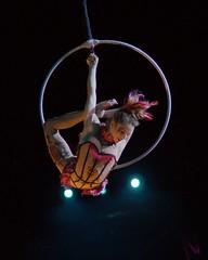 Cirque du Soleil : Qubec : Chemins Invisibles : LE HANGAR DES OUBLIS (Chapitre 5) :  Sabrina Aganier (eburriel) Tags: show light woman photography nikon circo martin circus femme group cirque homme flexible troupe  d3200 contorsion      sabrinaaganier