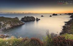 Sunrise calm (saki_axat) Tags: seascape sunrise paz amanecer calma somocuevas canonikos