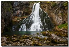 Gollinger Wasserfall (Fraggle Red) Tags: longexposure vacation mountain salzburg water austria waterfall sterreich rocks honeymoon wasserfall canonef1740mmf4lusm golling singleexposure gollingerwasserfall nd106 bw6stopnd bw18ndfilter bw6stopndfilter adobelightroom5 106ndfiter