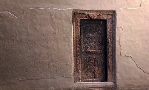 Door at Khaplu Fort
