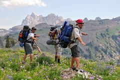 crest_trail_63 (StephenWilliDesigns) Tags: mountains hiking backpacking wildflowers wyoming tetons grandtetonnationalpark tetoncresttrail