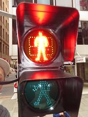New pedestrian countdown timer signals on Grenfell St (RS 1990) Tags: lights crossing traffic pedestrian september led signals adelaide crosswalk 12th countdown timer thursday southaustralia aldridge 2013 grenfellst jamespl