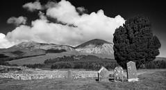 Graveyard (outonalymm) Tags: blackandwhite skye church monochrome grave graveyard mono scotland nikon isleofskye graves derelict broadford d800 elgol b8083 derelictchurch