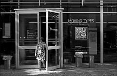 moving types (manni39) Tags: film me museum pentax agfa mainz apx gutenberg agfaapx100 pentaxme r09 gutenbergmuseum selfdevelopped pentax50mm20