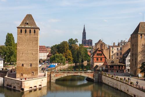Cathédrale et Ponts couverts