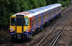 The new 458 (stavioni) Tags: new west electric train south railway trains multiple emu juniper farnborough unit swt 458 class458 458534