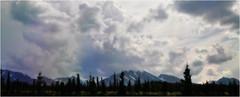 Kaleidoscope (janetfo747 ~ Dreaming of Africa) Tags: park trees wild alaska nationalpark high day cloudy peak kaleidoscope cypress wilderness denali preserve mtmckinley mountians openrange ontheedge mountmckinley denalinationalparkandpreserve thehighone koyukonathabaskan infinitexposure