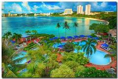 Hilton Resort & Spa (Chris Odchigue | Photography) Tags: summer vacation beach canon eos hotel sand hilton resort 5d usm spa ef guam markii 2470mm f28l