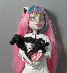 tenny tiny mh (DevoutDolls) Tags: monster high doll tiny blythe dolly ragdoll puki middie yosd
