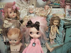 It's a doll's world........