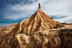 Navarra. Bardenas Reales (XIV) (Angel Villalba) Tags: desert erosion clay land colored desierto navarra bardenas erosin reales