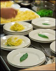 Tajarin - VUDE Sunday Supper at Heyday Farm (WordOfMouth) Tags: menu pasta bainbridgeisland schmaltz tajarin elevenwinery vude mikeeaston heydayfarm ilcorvopasta velvetundergrounddiningexperience sundaysuppersonthefarm