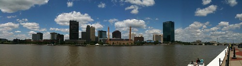 Toledo Maumee RIver Downtown