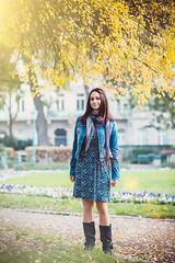 IMG_9956 (ODPictures Art Studio LTD - Hungary) Tags: autumn portrait anna fall girl smile canon eos bokeh 85mm skirt jeans farmer 6d kert lajos kabt sz mosoly szoknya portr krolyi odpictures