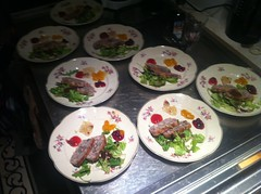 Voorgerecht (ianus) Tags: christmas family home cooking dinner eating plates pate keke46